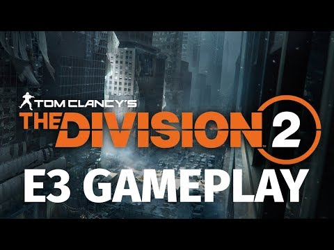 12 Minutes of The Division 2 in 4K 60FPS | E3 2018 Co-Op Gameplay