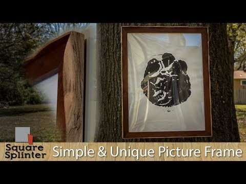 Simple and Unique Hard Wood Picture Frame