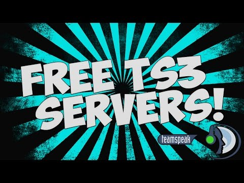 FREE TS3 \\How to get an Instant 100 slots TS3// SERVER FREE ''UPDATED'