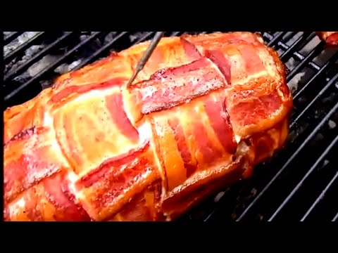 How to make Bacon Wrapped Chicken Breast on the Weber Kettle Grill