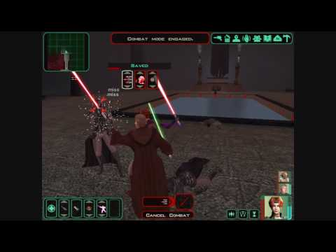 KOTOR II: Fight at the crypt and Freedon Nadd's lightsaber