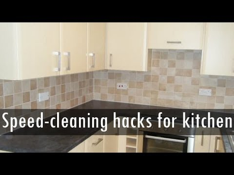 Hacks to Speed-clean Your Kitchen