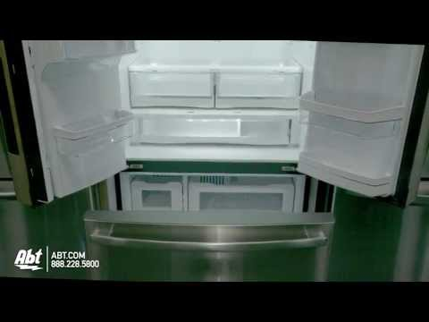 GE Profile Stainless Steel Counter Depth French Door...
