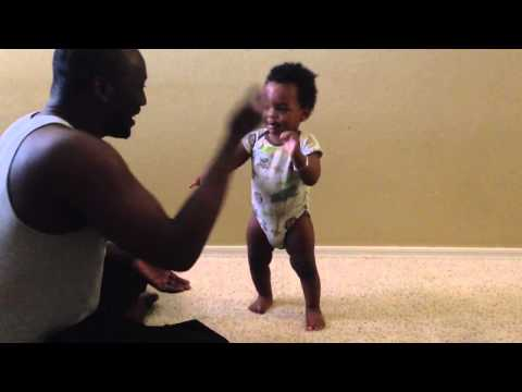 Teach a Baby How to stand up