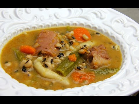 Caribbean Black Eyed Peas Soup - Tasty Tuesday's | CaribbeanPot.com