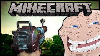 Minecraft: Trolling Little Kids | #20 (Ray Gun!)