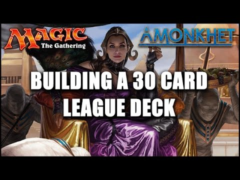 Magic: The Gathering Amonkhet League - Building a 30 Card Sealed Deck! - Sponsored
