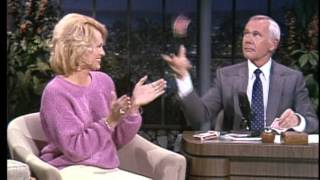 Download Johnny Carson Teaches Card Tricks to Angie Dickinson on the Tonight Show Starring Johnny Carson Video