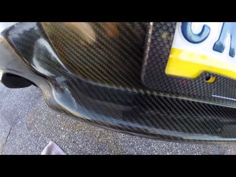 How To Fix and Repair Cloudy Seibon Carbon Fiber Tutorial Subaru Wrx Sti