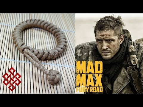 How to Make a Mad Max Snake Knot Paracord Bracelet Tutorial