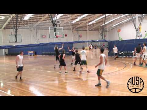 Andrew Panayiotou || Class of 2016 || 3.9 GPA || 2100 SAT ||AUSA Hoops Elite Scrimmage - Melbourne