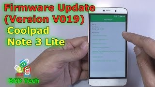 Coolpad Note 3 Lite 8298 i00 flashing | restore software