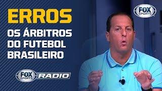 """ERROS DE ARBITRAGEM! Assunto é tema no """"FOX Sports Rádio"""" e Benja surpreende"""