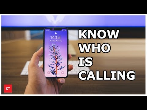Know who is calling you without looking at the phone