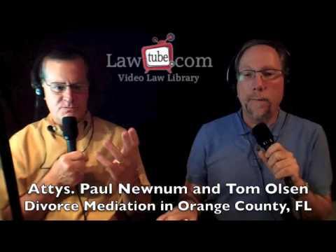 Divorce mediation in Orange County Florida