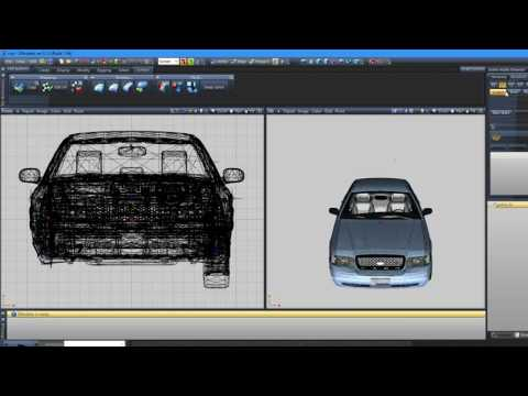 ZModeler 3 How To Make A ELS Police Vehicle | EASY FOR BEGINNERS | #1 | Setting up the mesh
