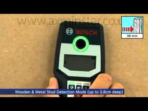 Bosch GMS 120 Wire Pipe and Stud Detector