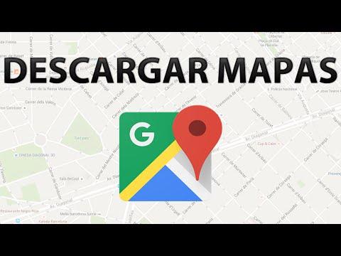 Descargar mapas de Google Maps en iPhone y Android