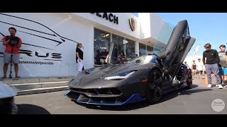Poisoned Studios Videos - Lamborghini newport beach car show 2018