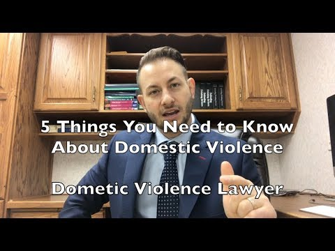 5 Things You Need to Know About Domestic Violence