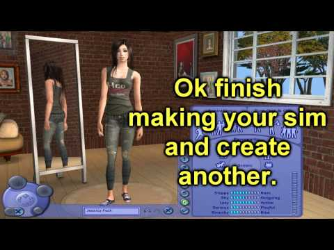 Sims 2 How to Make Hacked Kids