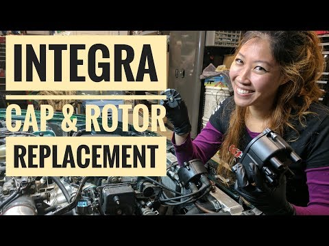 How to Replace Integra Distributor Cap and Rotor (VLOG 16)