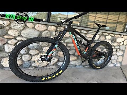 Top 2017 Mountain Bikes: 2017 Santa Cruz Hightower 27.5+ plus tires #29er #testride #bikereview #mtb