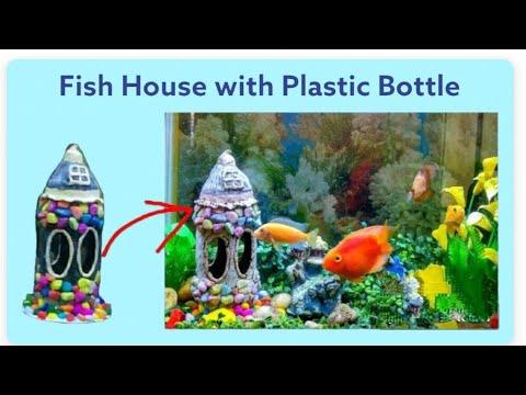 DIY Aquarium decoration item with Plastic bottle
