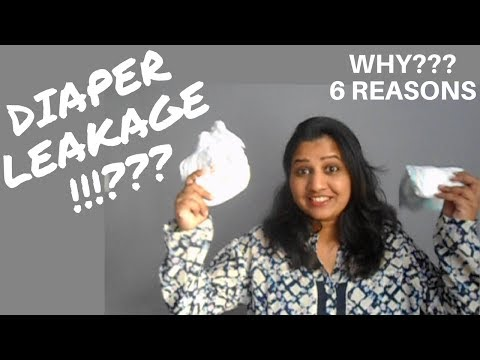 DIAPER LEAKAGE | Why the diaper leaks?? | Mom hacks