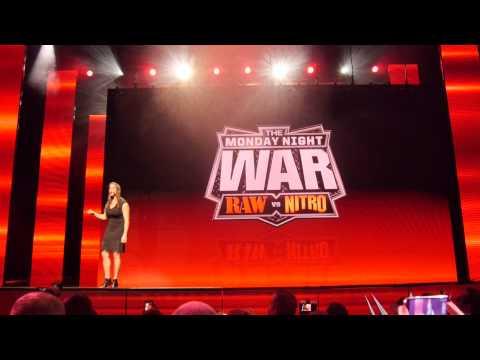 WWE Network Presentation CES 2014 Las Vegas