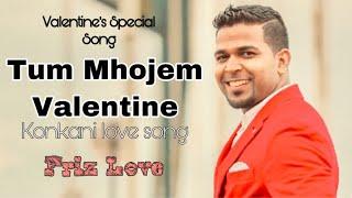 Valentines day song/ Tum Mhojem Valentine - Friz Love/ New Konkani song/Valentine Special