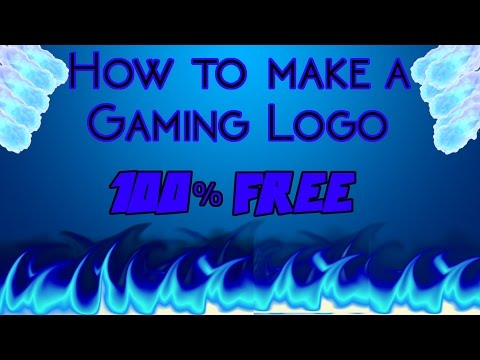How to make a gaming intro or channel icon for free