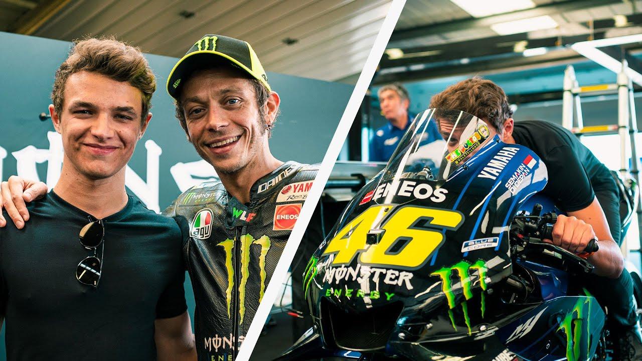 MEETING MY HERO VALENTINO ROSSI AT BRITISH MotoGP // LandoLOG 015