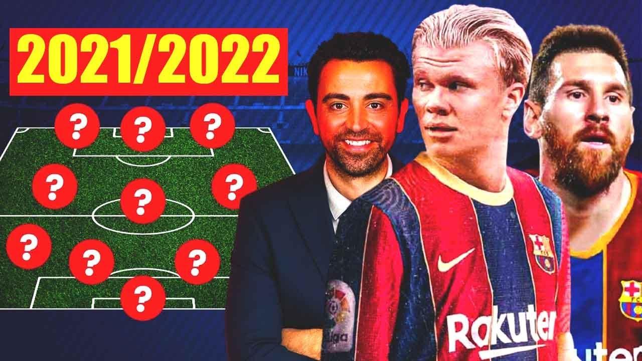 BARCELONA 2021/22: NEW BARCELONA - BOMBAZO! HAALAND, MESSI, XAVI and LAPORTA!