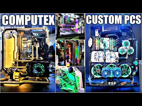 The Glorious Custom PC Case Mods of Computex 2018