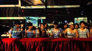 "JKT48 Prescon konser 34 kota ""Mengarungi Samudra Mengetuk Pintu Hatimu"" at Twin Hotel Surabaya."