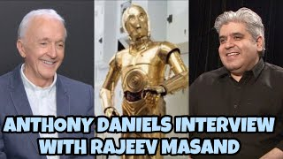 Anthony Daniels interview with Rajeev Masand I Star Wars: The Rise of Skywalker