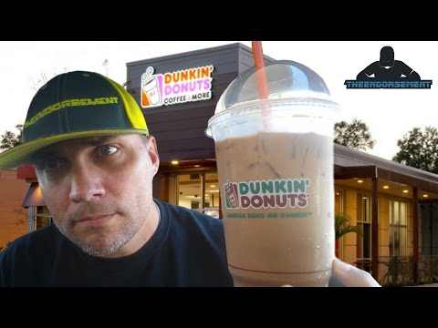 DUNKIN' DONUTS ICED COFFEE REVIEW #213 - CARAMEL / SUGAR COOKIE / MOCHA