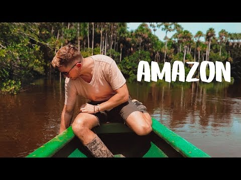 You DO NOT want to fall in this lake - AMAZON RAINFOREST
