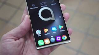 Alcatel 5 hands on at MWC 2018