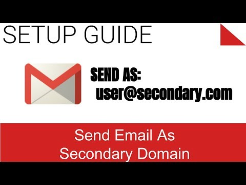 Send Mail As in Gmail with Secondary Domain Address and Signature