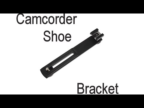 How to add a shoe to a Camcorder or non shoe camera