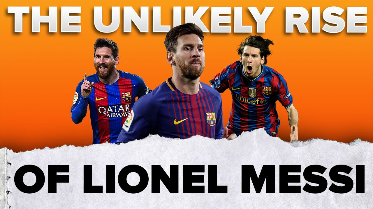 The UNLIKELY rise of Messi 📈 | #shorts