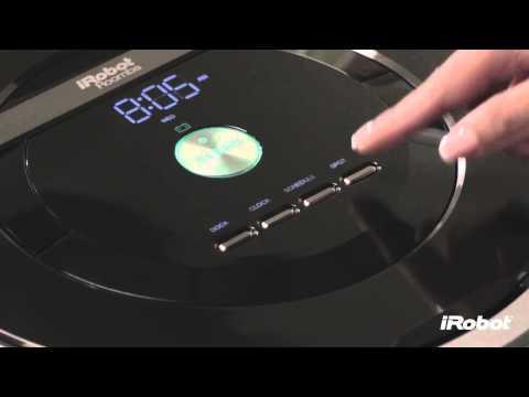 iRobot Roomba® 800 Series - How To Set the Clock