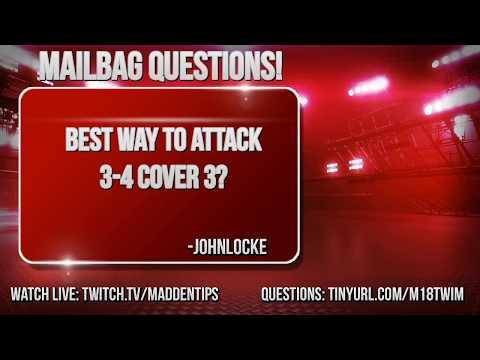 Madden 18 Gameplay | 34 Predator Coverage Blitz | Madden 18 Tips