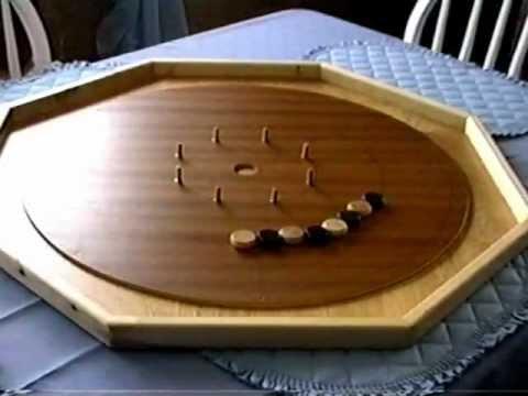 Crokinole Board stop motion