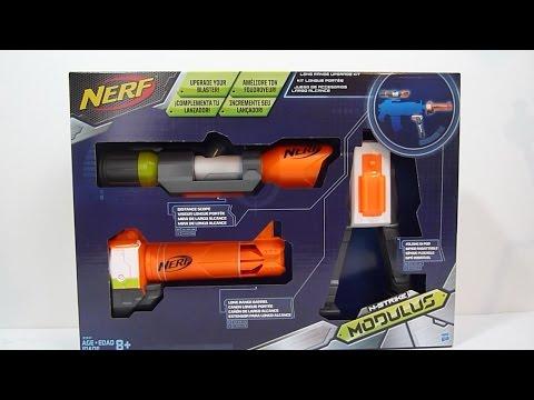 NERF Modulus Long Range Upgrade Kit review