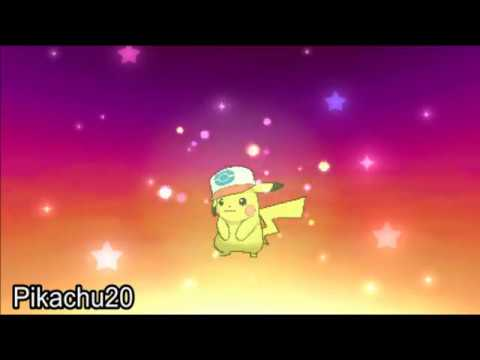 Pokemon Sun & Moon - How To Get Ash's Pikachu (UNOVA CAP) Mystery Gift Event!