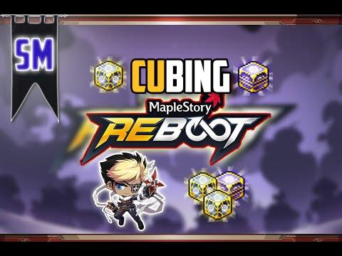 MapleStory Reboot: CUBING on my NIGHTLORD!
