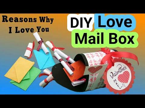 DIY Valentine MailBox | Valentine Gifts for Boyfriend | Valentine Cards Handmade |